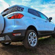 Форд Экоспорт 2018: тест драйв