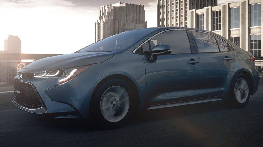 Тойота Королла 2020: фото
