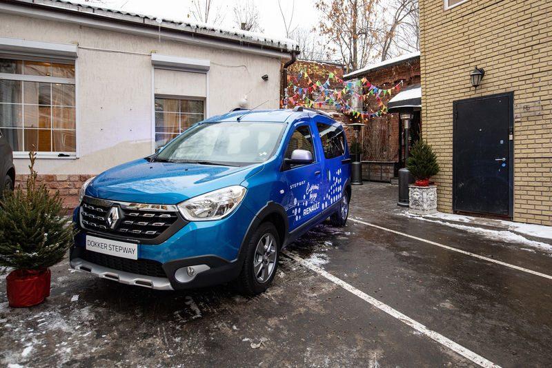 Renault Dokker Stepway 2019