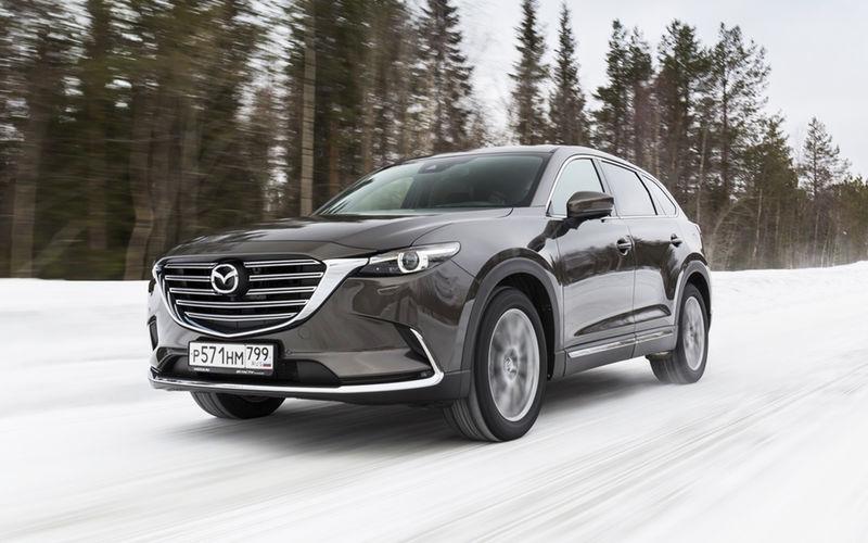 Mazda CX-9 2019: цена в России и другие подробности
