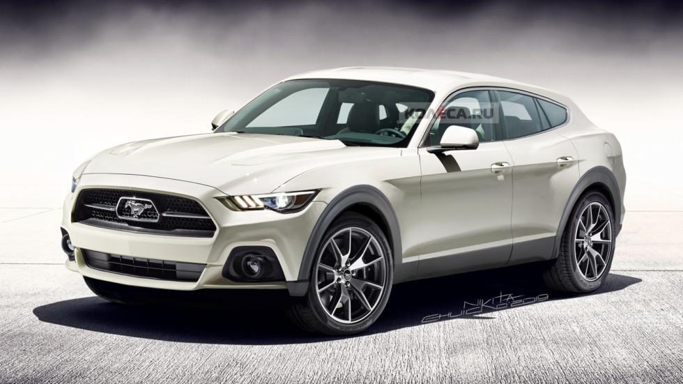 Кроссовер Ford Mustang: первые подробности и рендер