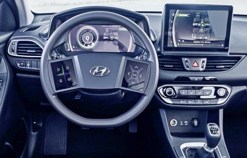 Hyundai показала интерьер будущих моделей