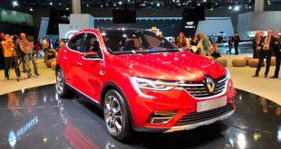 Серийный Renault Arkana представят 11 апреля