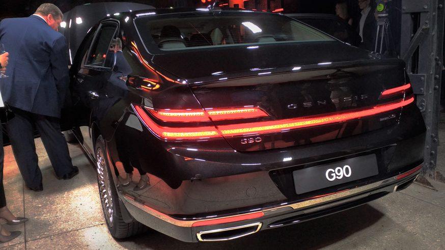 Genesis G90 2019: цена в России