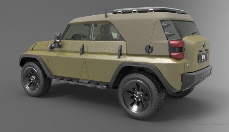 Каким мог бы быть новый УАЗ-469