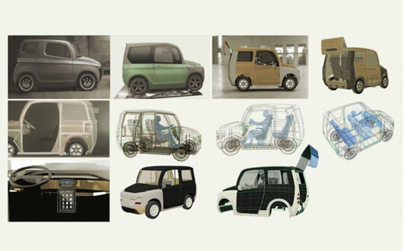 Новый российский электромобиль Zetta