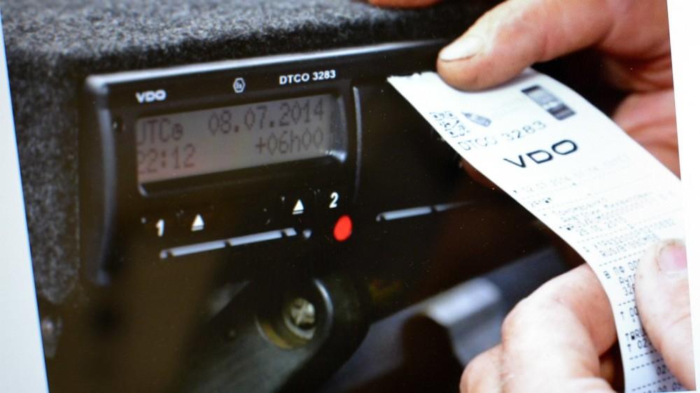 Новые штрафы за нарушение режим труда водителей