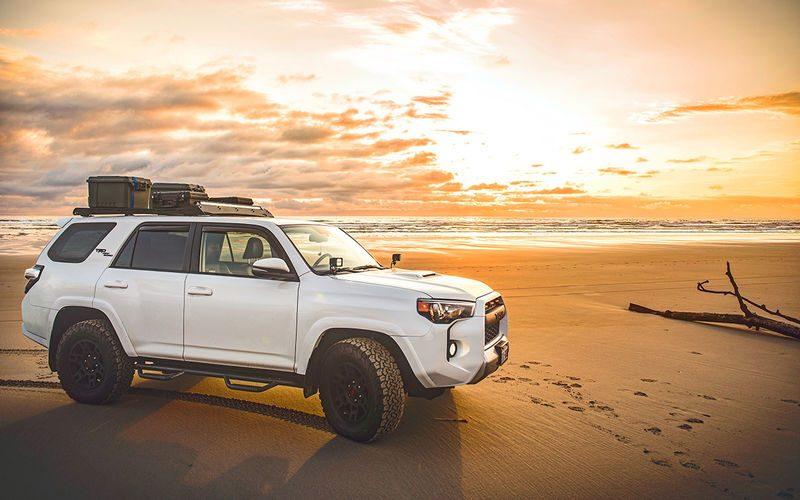 Как проехать по песку?