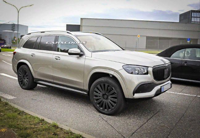 Mercedes-Maybach GLS 2020: фото и другие подробности