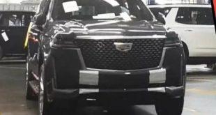 Новый Cadillac Escalade: первые фото и другие подробности