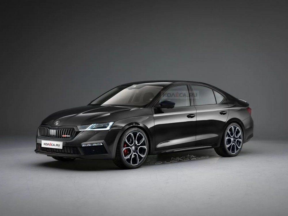 Новая Skoda Octavia RS 2020