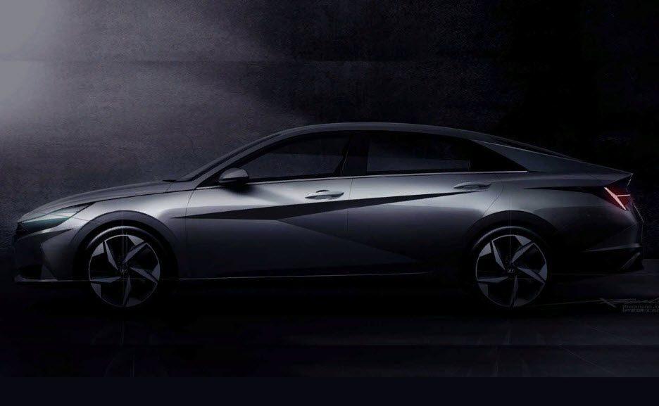 Hyundai Elantra 2021: подробности о рестайлинге