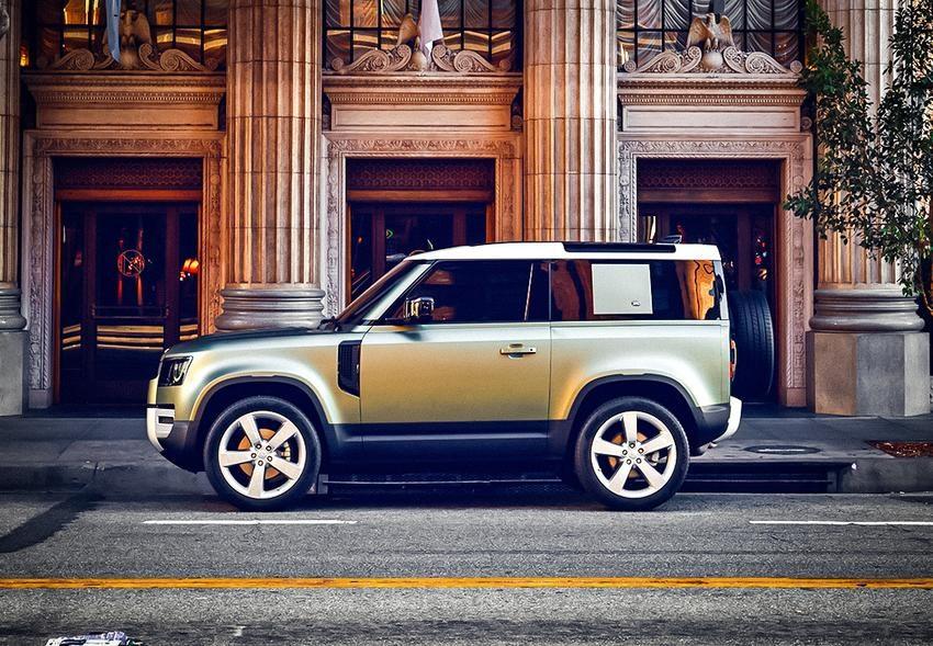 Land Rover Defender 2020 цена в России