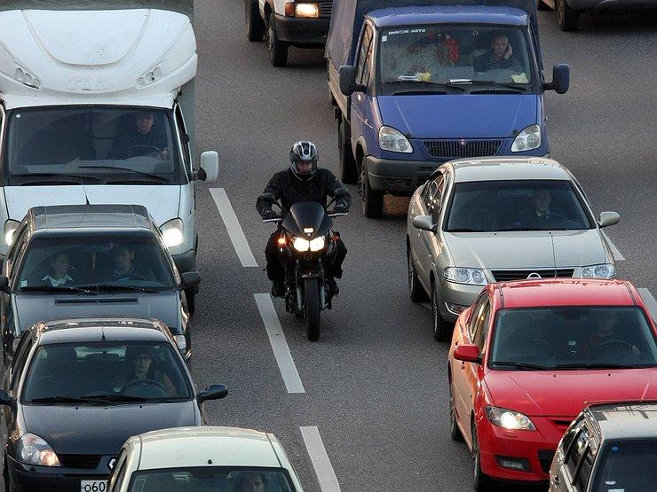 Новый штраф для мотоциклистов 2020
