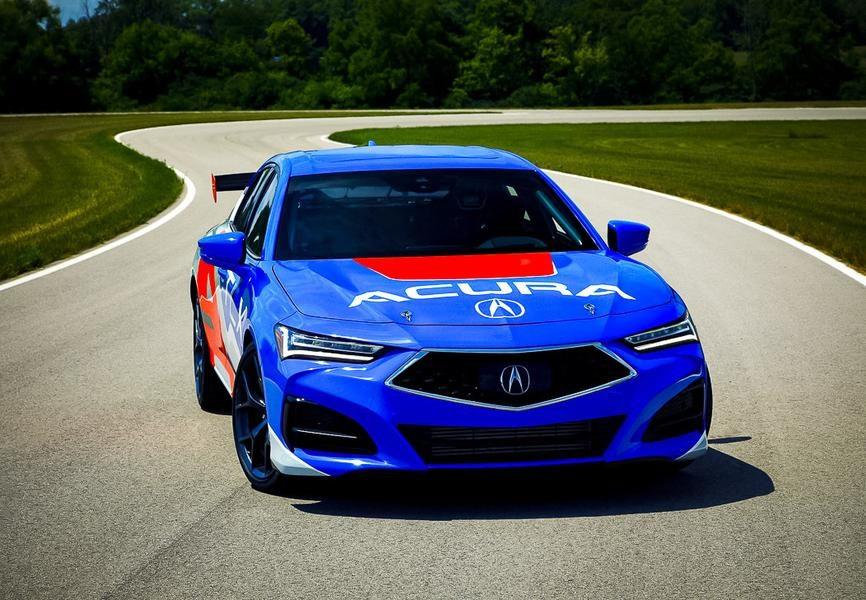 Acura TLX Type S: подробности о новом спортседане