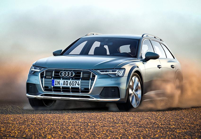 Audi A6 allroad 2020: комплектации и цена в России