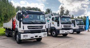 Daewoo Trucks 8x4 Novus: подробности о новой модели в РФ