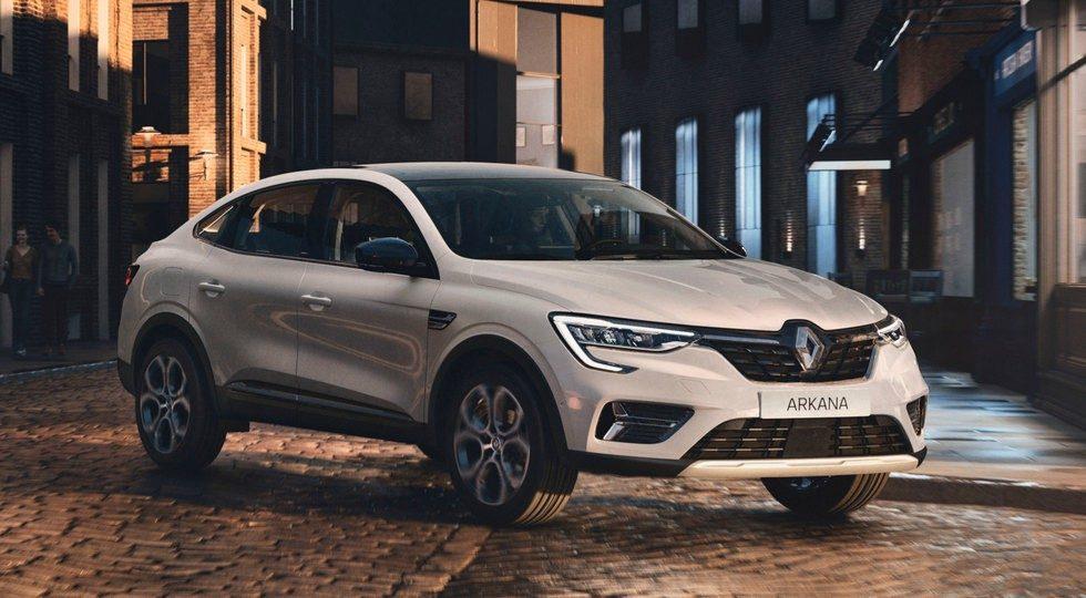 Renault Arkana для Европы: отличия
