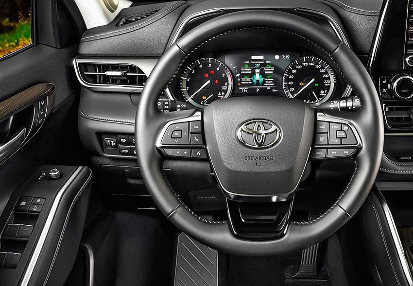 Тойота Хайлендер 2020 года новая модель фото цена