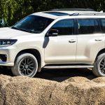 Тойота Ленд Крузер Прадо 2021 года новая модель фото цена