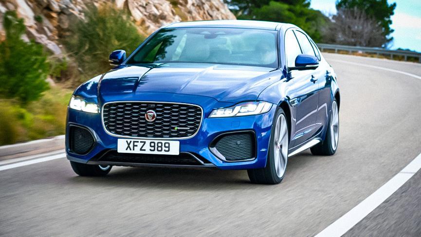 Jaguar XF 2021: фото и характеристики