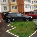 Новые штрафы за парковку на газоне и мойку в 2021 году