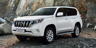Toyota Land Cruiser Prado 2015 тест драйв видео