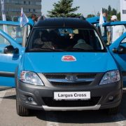 АвтоВАЗ показал Lada Largus Cross Black Edition