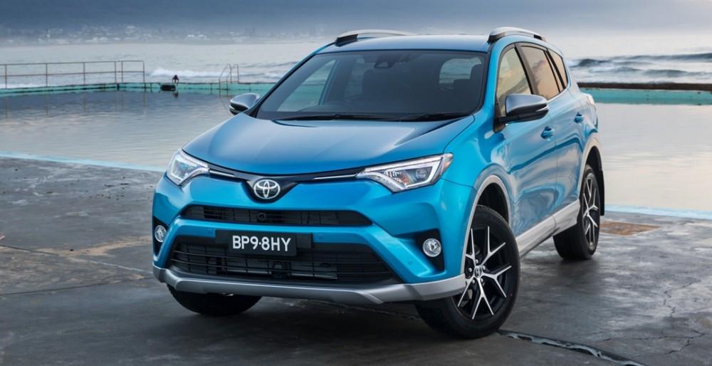 Старт продаж Toyota RAV4 2017: фото, цена и характеристики
