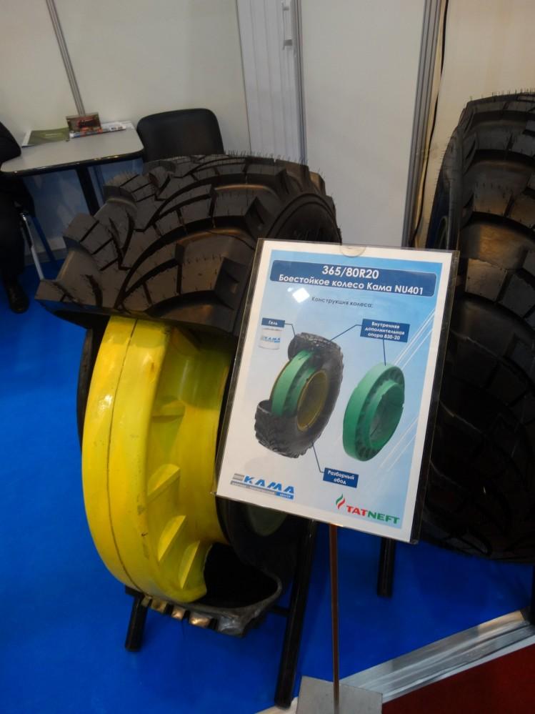 Непробиваемые шины NU402 для российской бронетехники