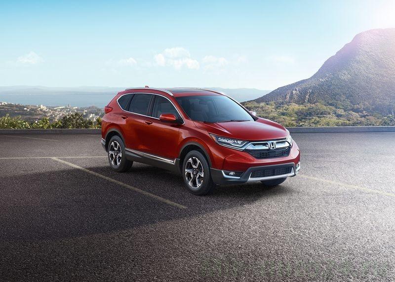 Honda CR-V 2017 едет в Россию: первые подробности