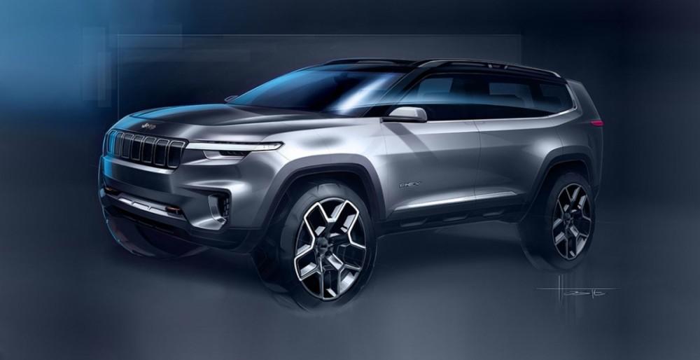 Jeep Yuntu Concept представят на автосалоне в Шанхае