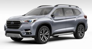 Subaru Ascent 2018: фото и характеристики
