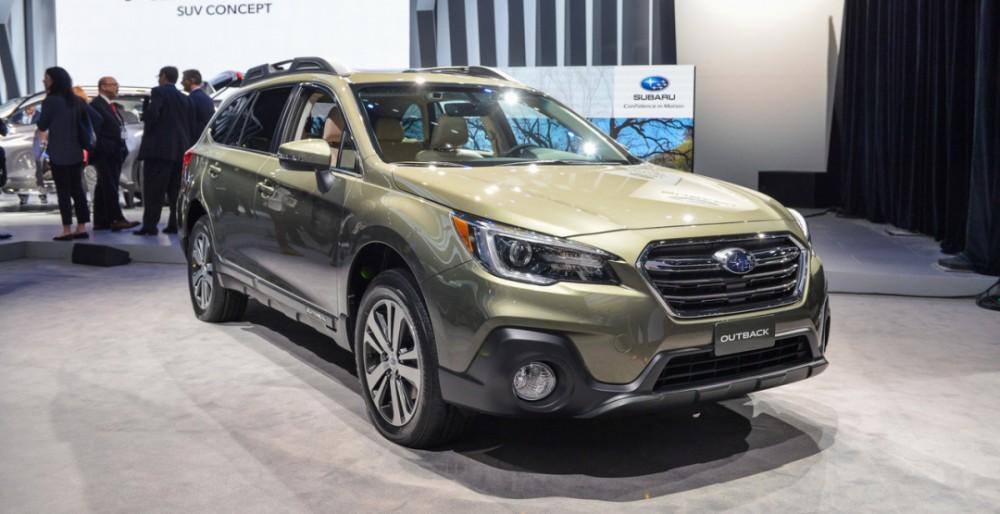 2017 New York Auto Show: представлен Subaru Outback 2018
