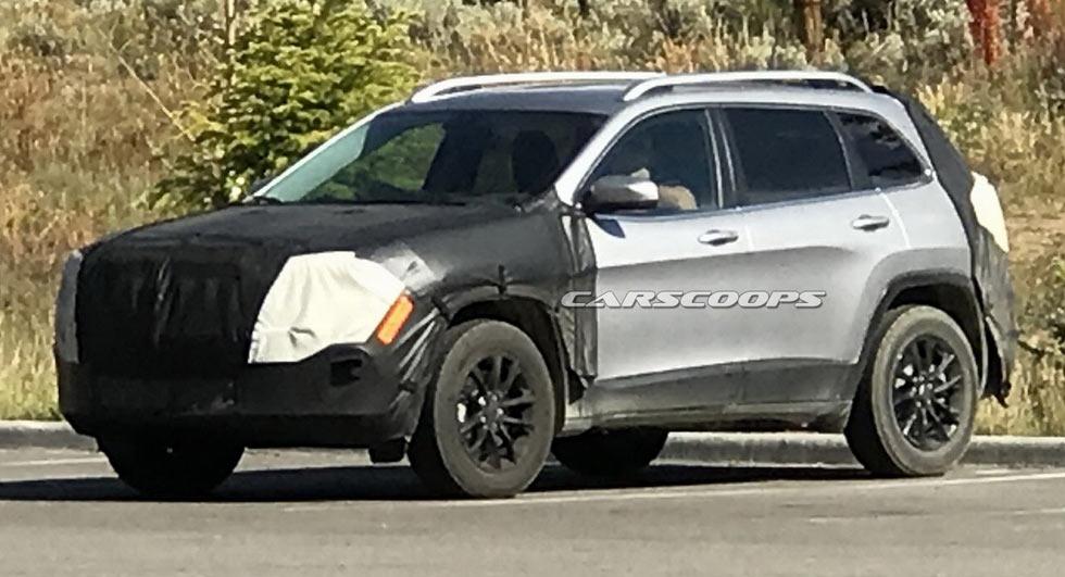 Jeep Cherokee 2019 фото