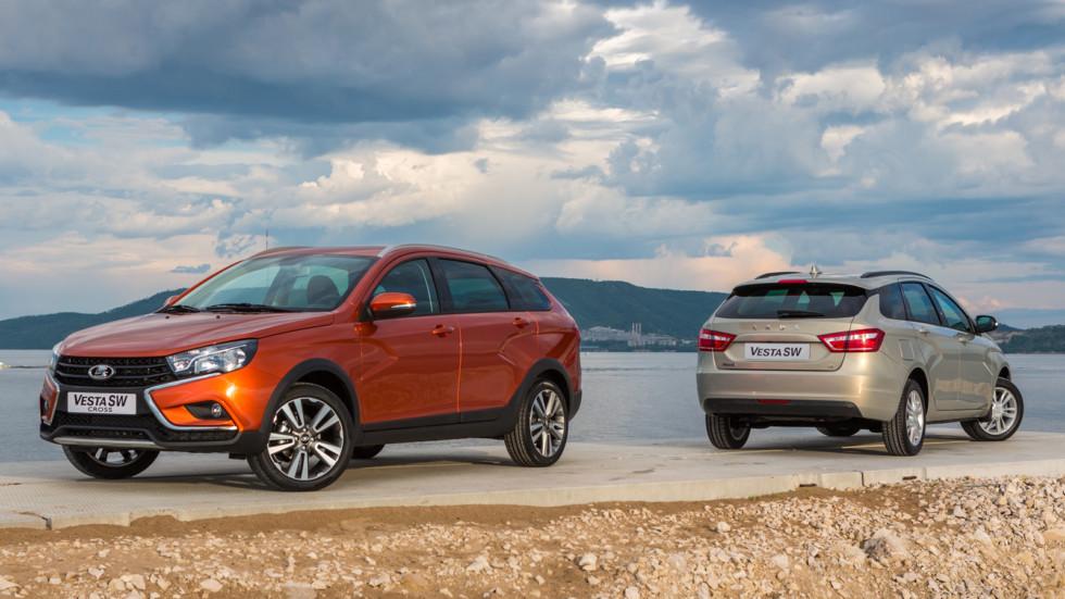 Купить Lada Vesta SW и Vesta SW Cross можно будет в октябре