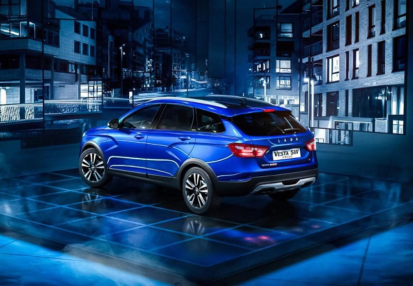 Lada Vesta Cross Black: фото, характеристики и цена