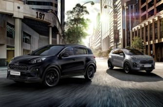 Kia Sportage Black Edition: отличия и цена